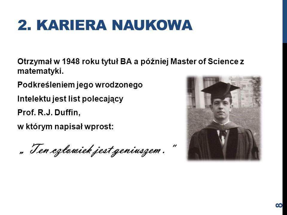 2. Kariera naukowa
