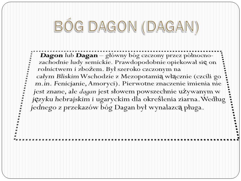 BÓG DAGON (DAGAN)