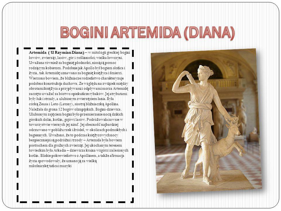 BOGINI ARTEMIDA (DIANA)