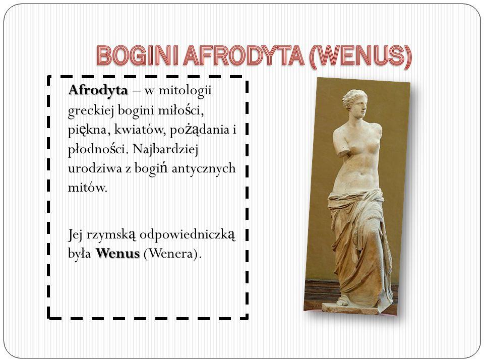 BOGINI AFRODYTA (WENUS)