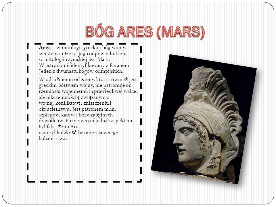 BÓG ARES (MARS)