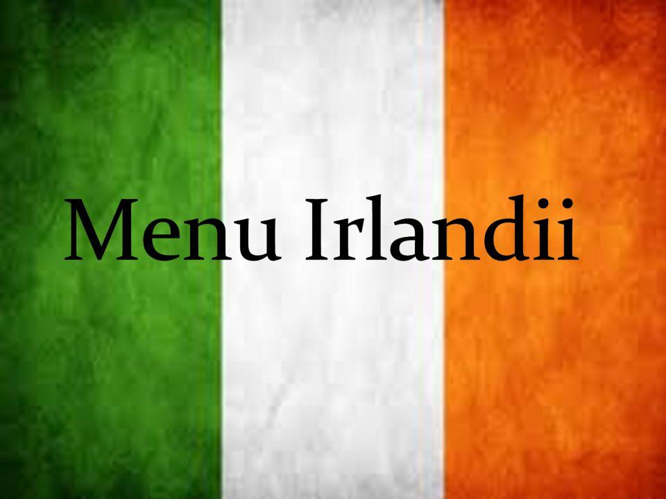 Menu Irlandii