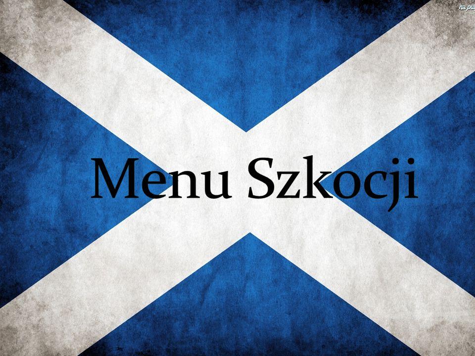 Menu Szkocji