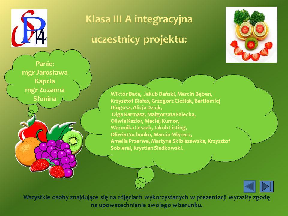 Klasa III A integracyjna