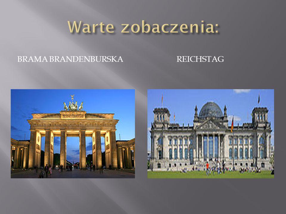 Warte zobaczenia: Brama Brandenburska Reichstag