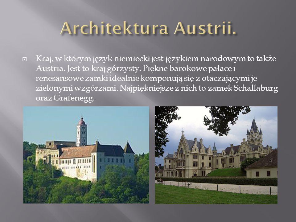 Architektura Austrii.