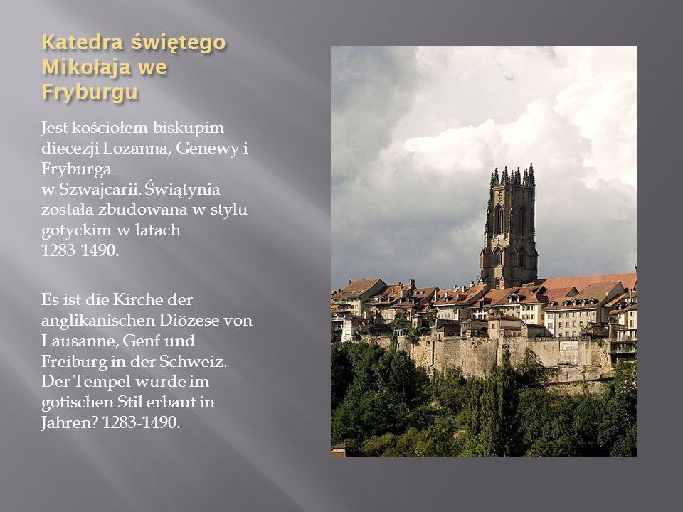 Katedra świętego Mikołaja we Fryburgu