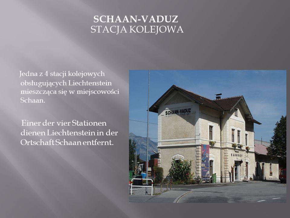 Schaan-Vaduz stacja kolejowa