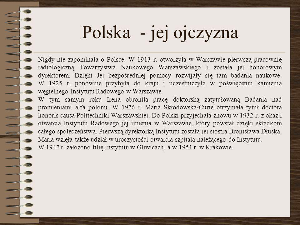 Polska - jej ojczyzna
