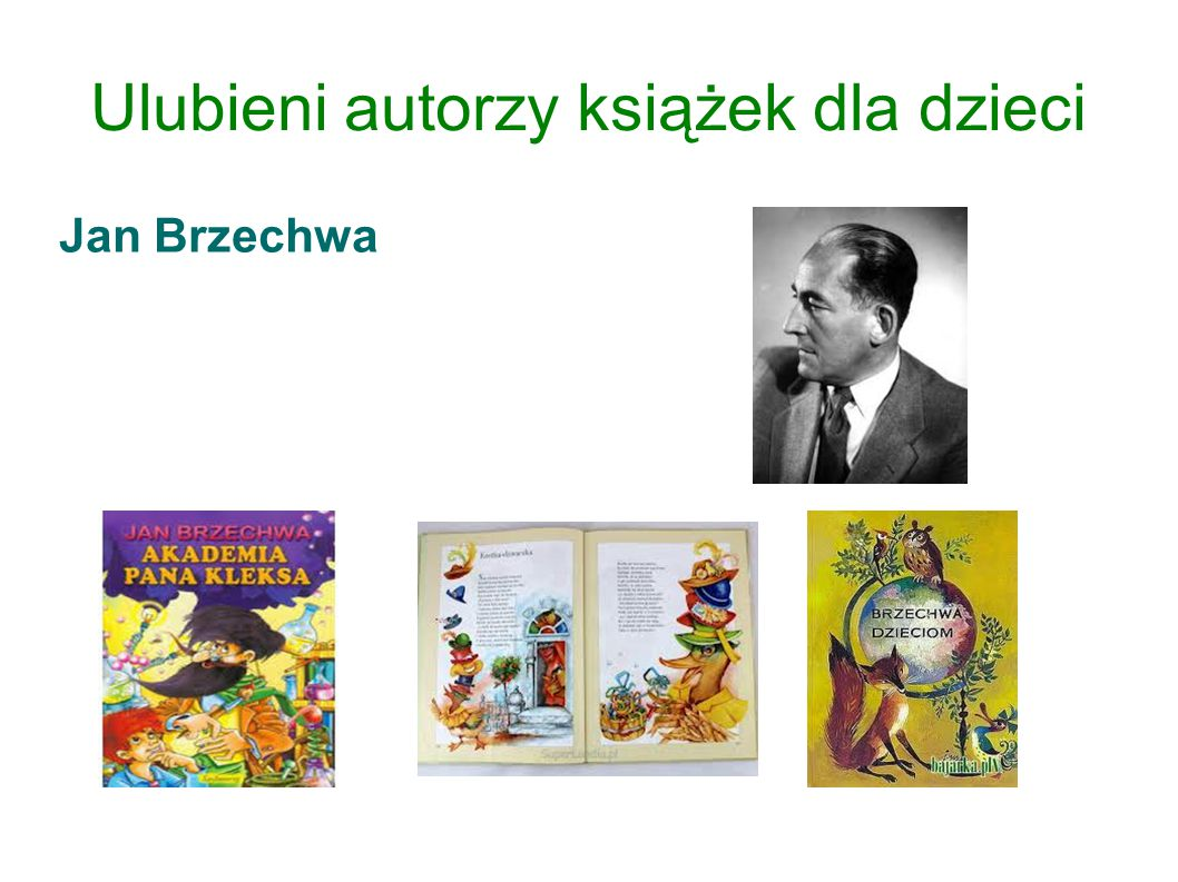 Ulubieni autorzy książek dla dzieci