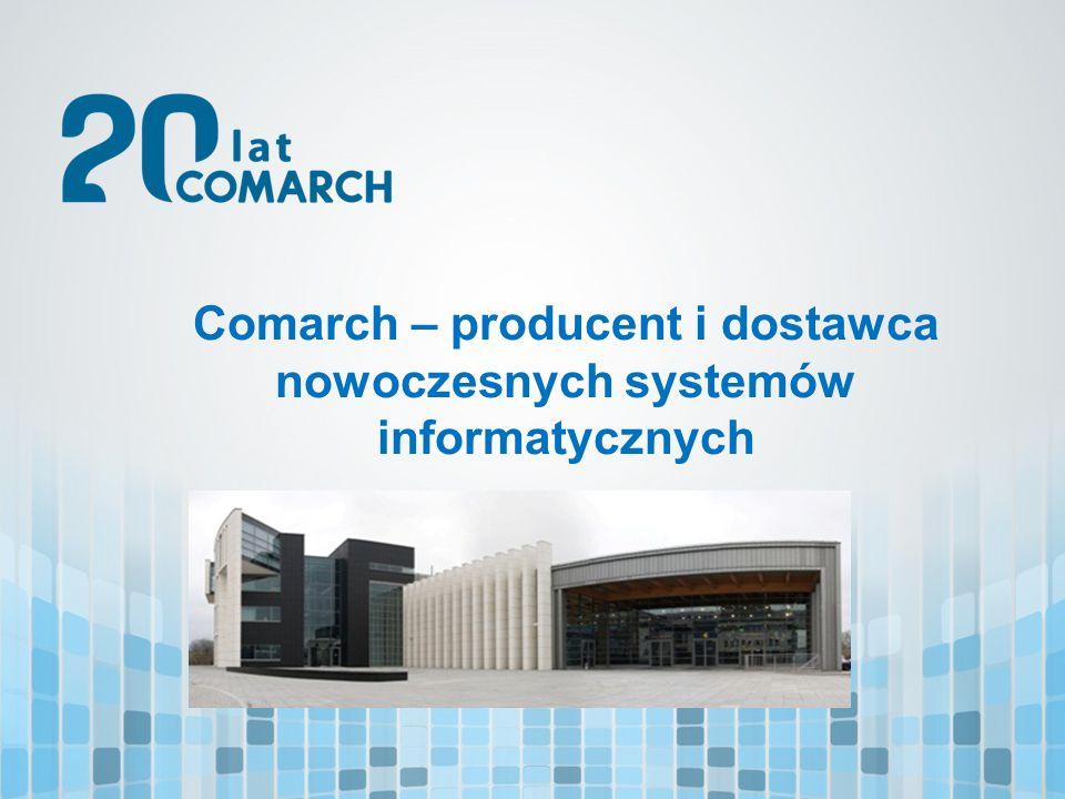 Comarch – producent i dostawca nowoczesnych systemów informatycznych
