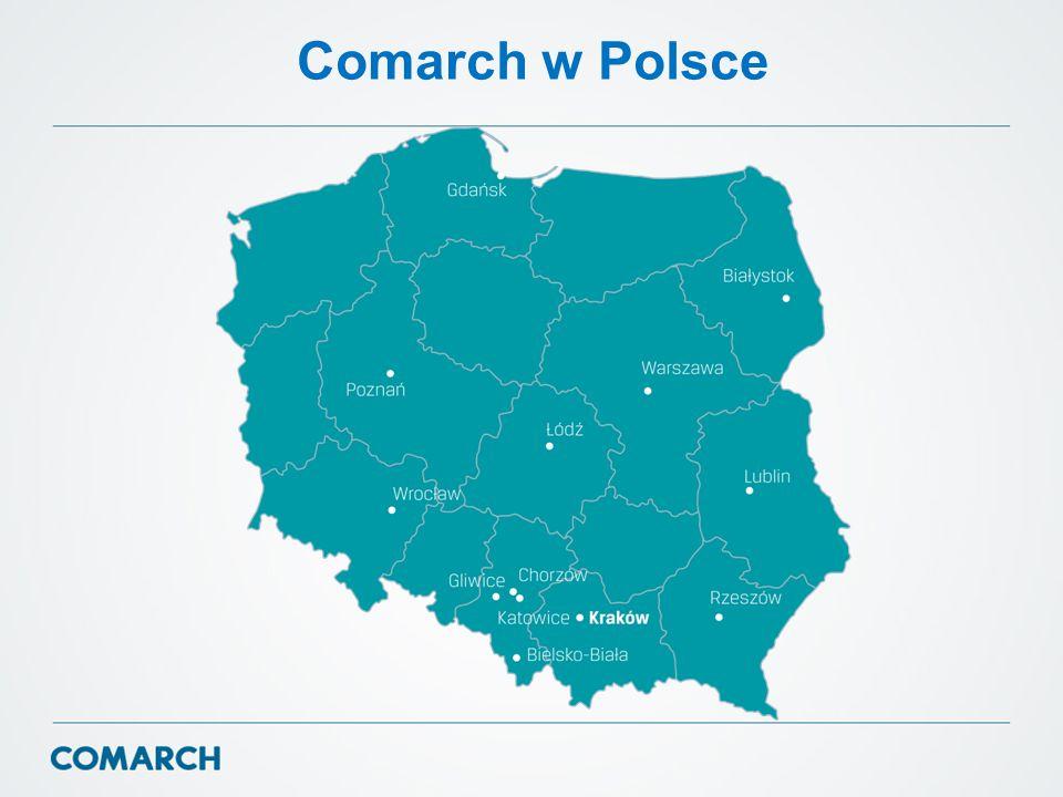 Comarch w Polsce