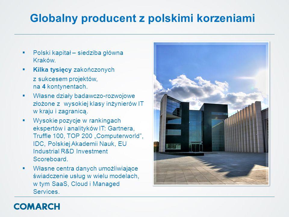 Globalny producent z polskimi korzeniami