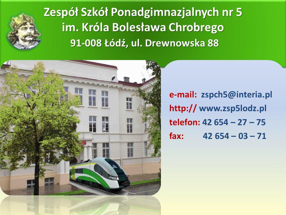 Zespół Szkół Ponadgimnazjalnych nr 5 im
