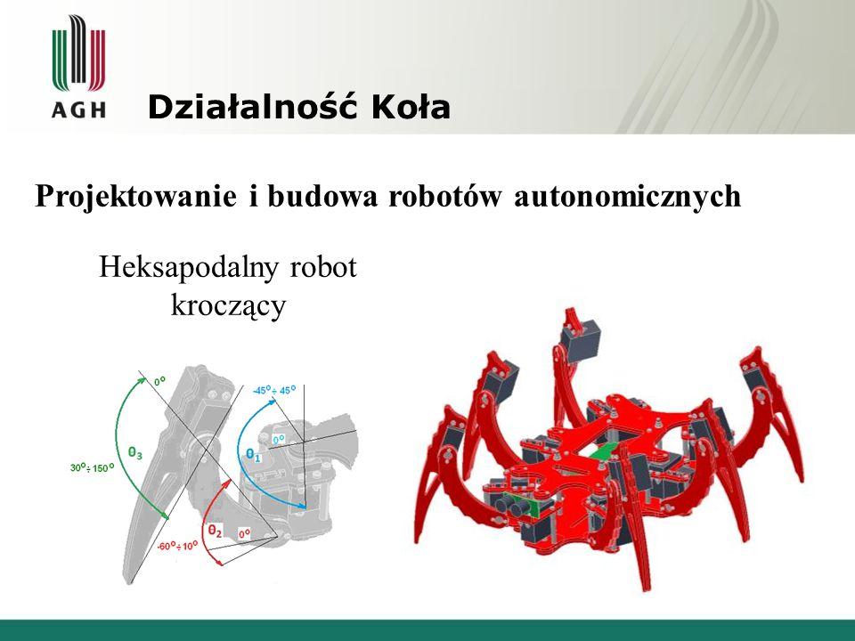 Heksapodalny robot kroczący