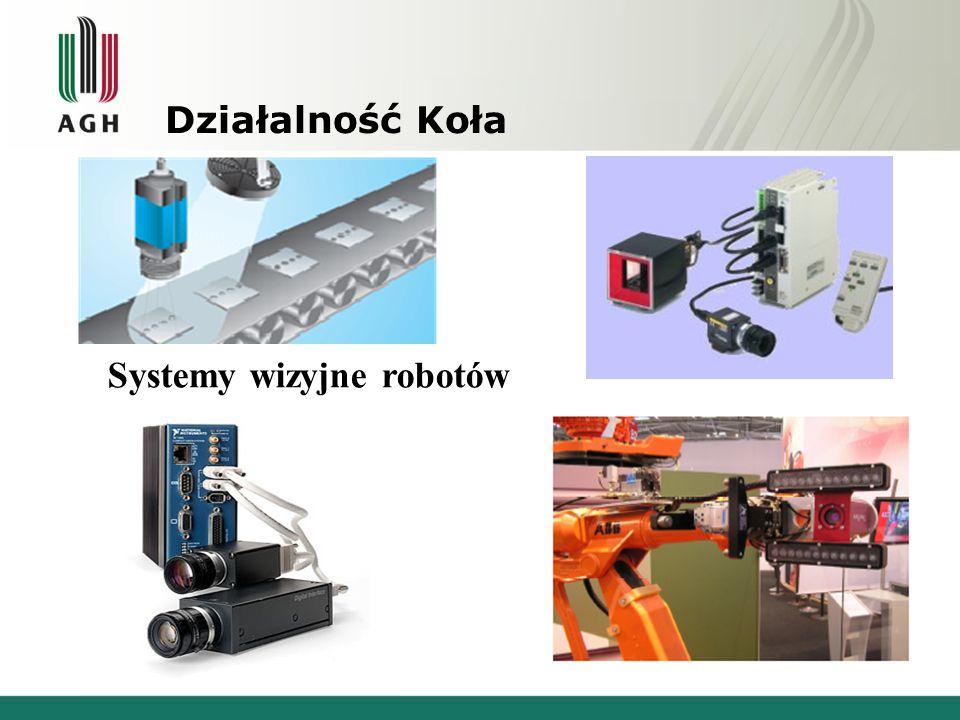 Działalność Koła Systemy wizyjne robotów