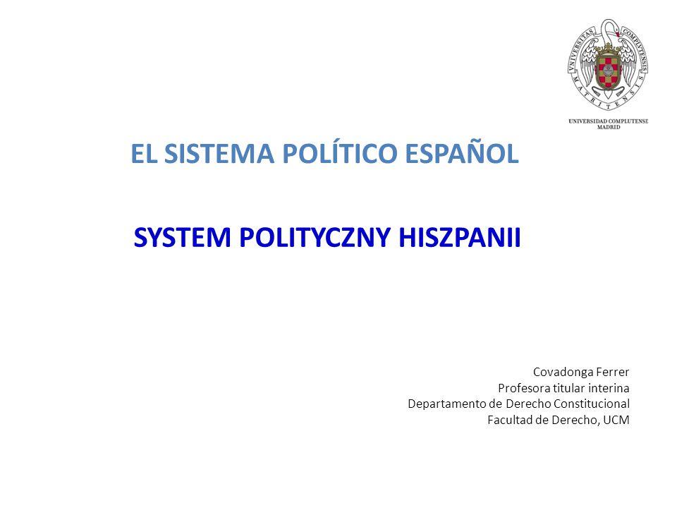 SYSTEM POLITYCZNY HISZPANII