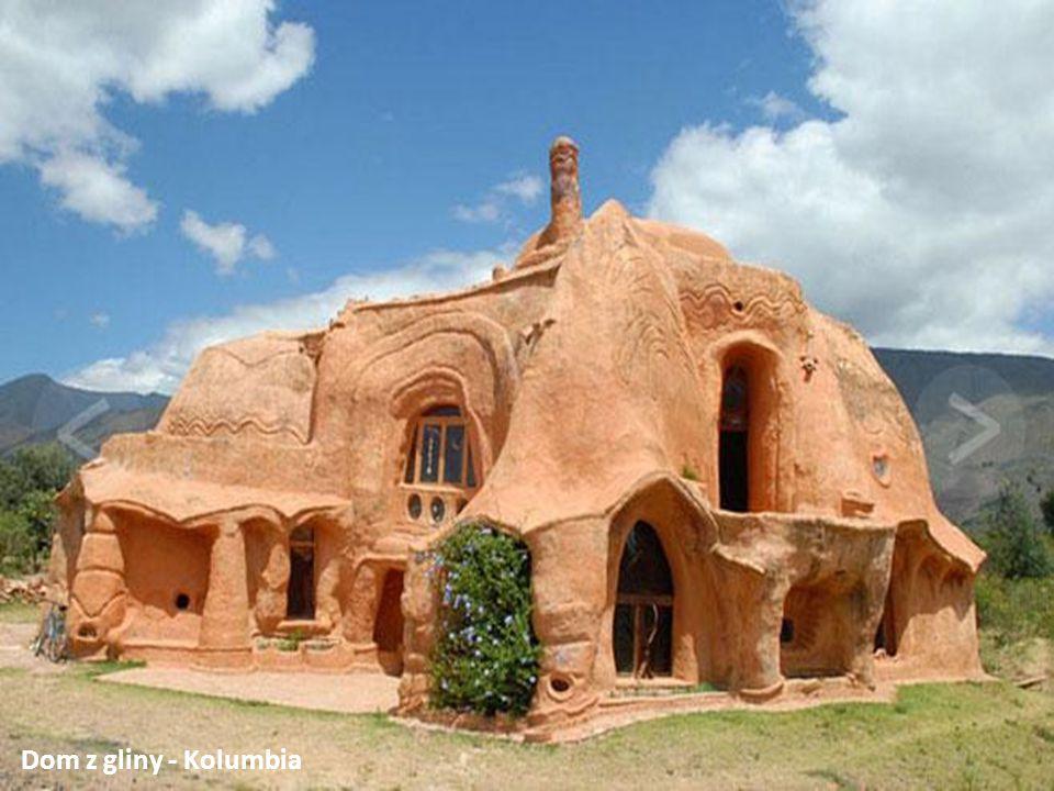 בית החימר - קולומביה Dom z gliny - Kolumbia
