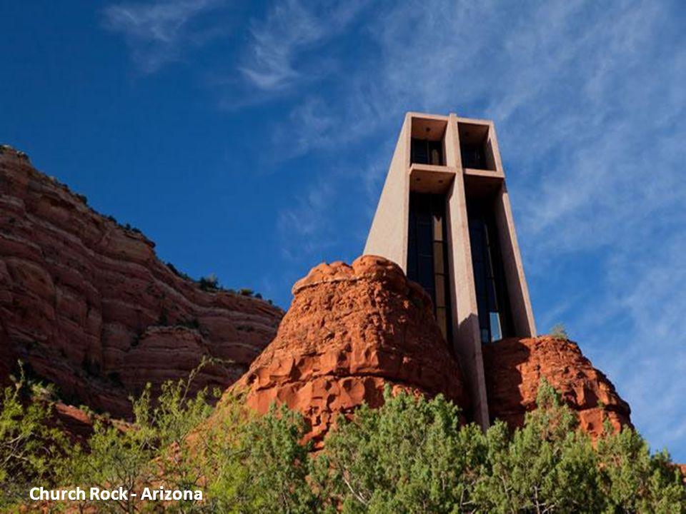 כנסייה בסלע - אריזונה, ארה ב
