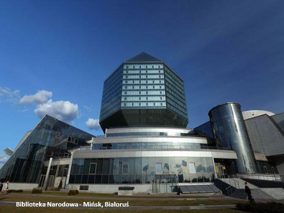 Biblioteka Narodowa - Mińsk, Białoruś
