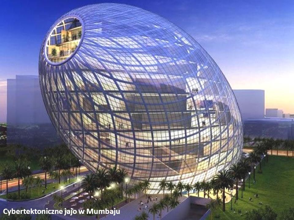 Cybertektoniczne jajo w Mumbaju