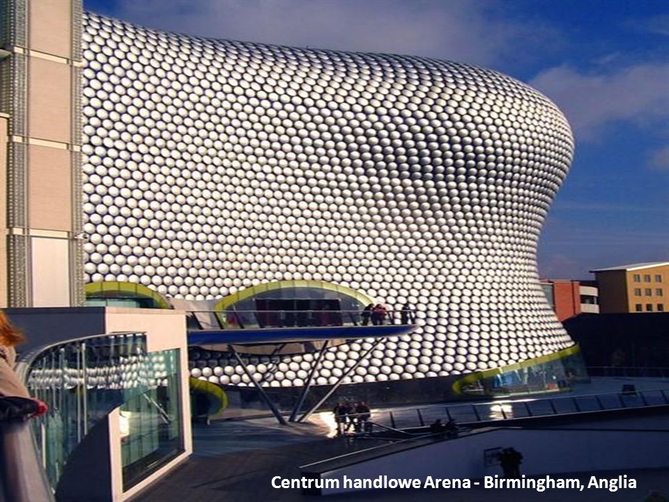 Centrum handlowe Arena - Birmingham, Anglia