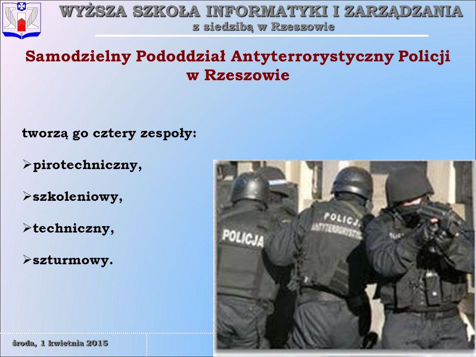 Samodzielny Pododdział Antyterrorystyczny Policji w Rzeszowie