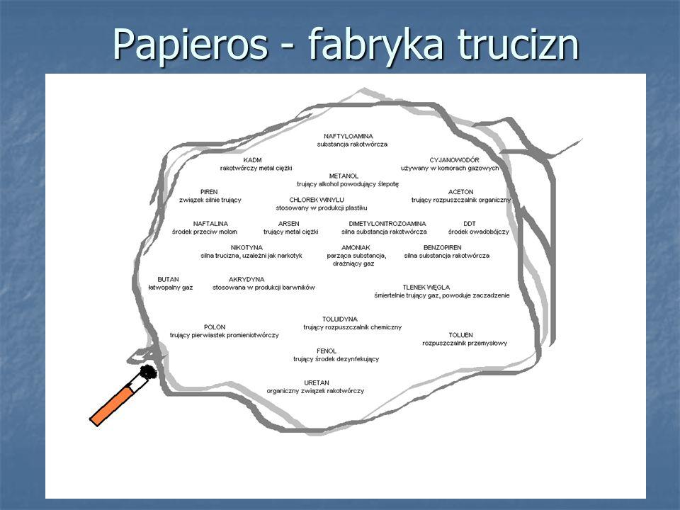 Papieros - fabryka trucizn