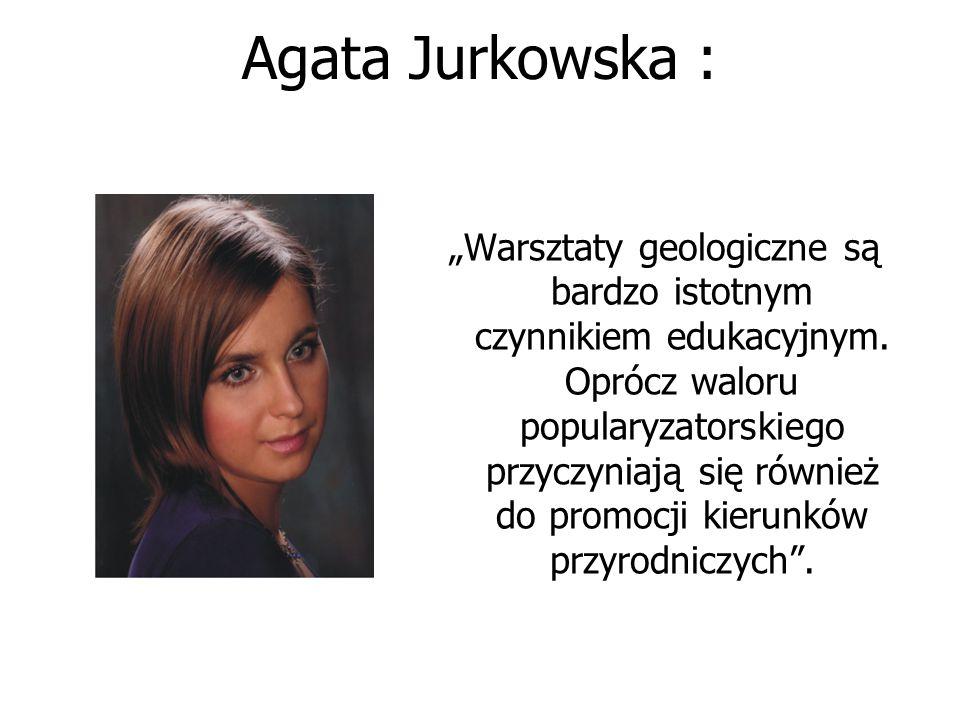 Agata Jurkowska :