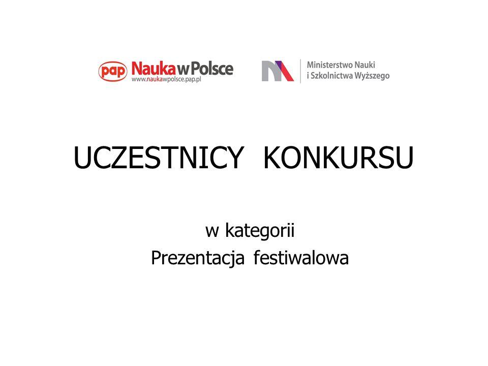 Prezentacja festiwalowa