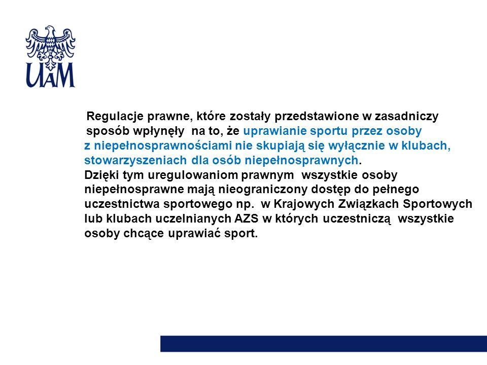 Regulacje prawne, które zostały przedstawione w zasadniczy