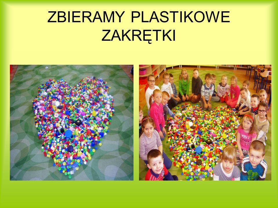 ZBIERAMY PLASTIKOWE ZAKRĘTKI