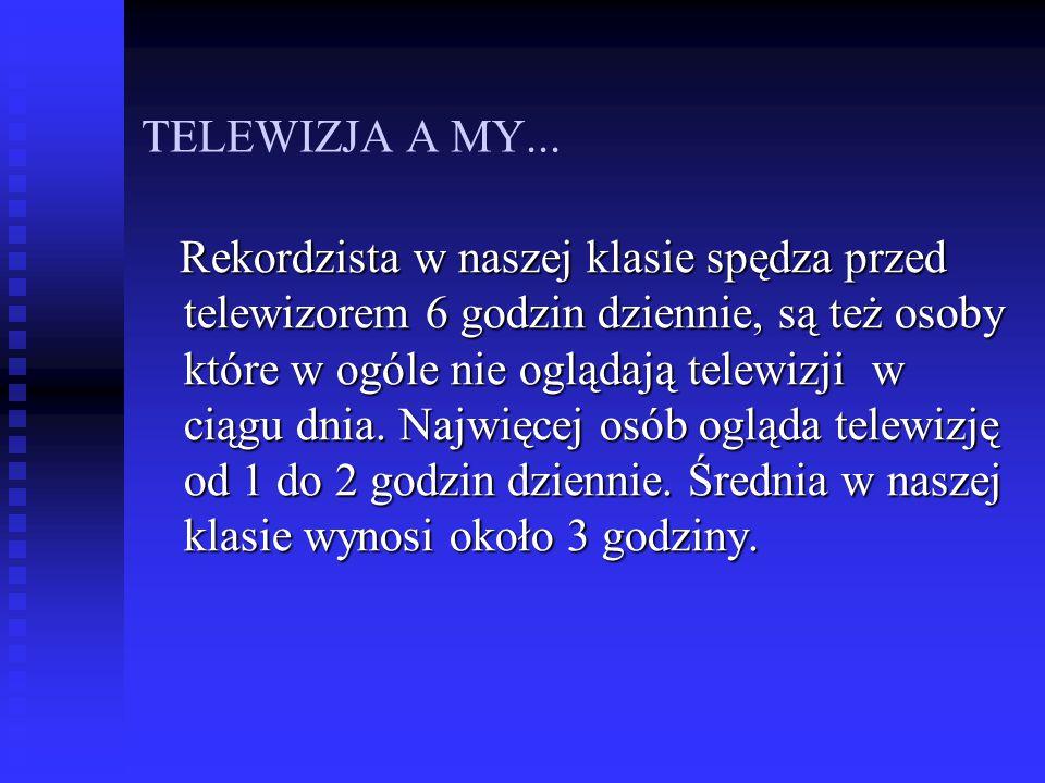 TELEWIZJA A MY...