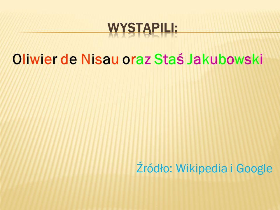 Oliwier de Nisau oraz Staś Jakubowski