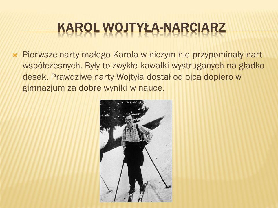 Karol Wojtyła-Narciarz