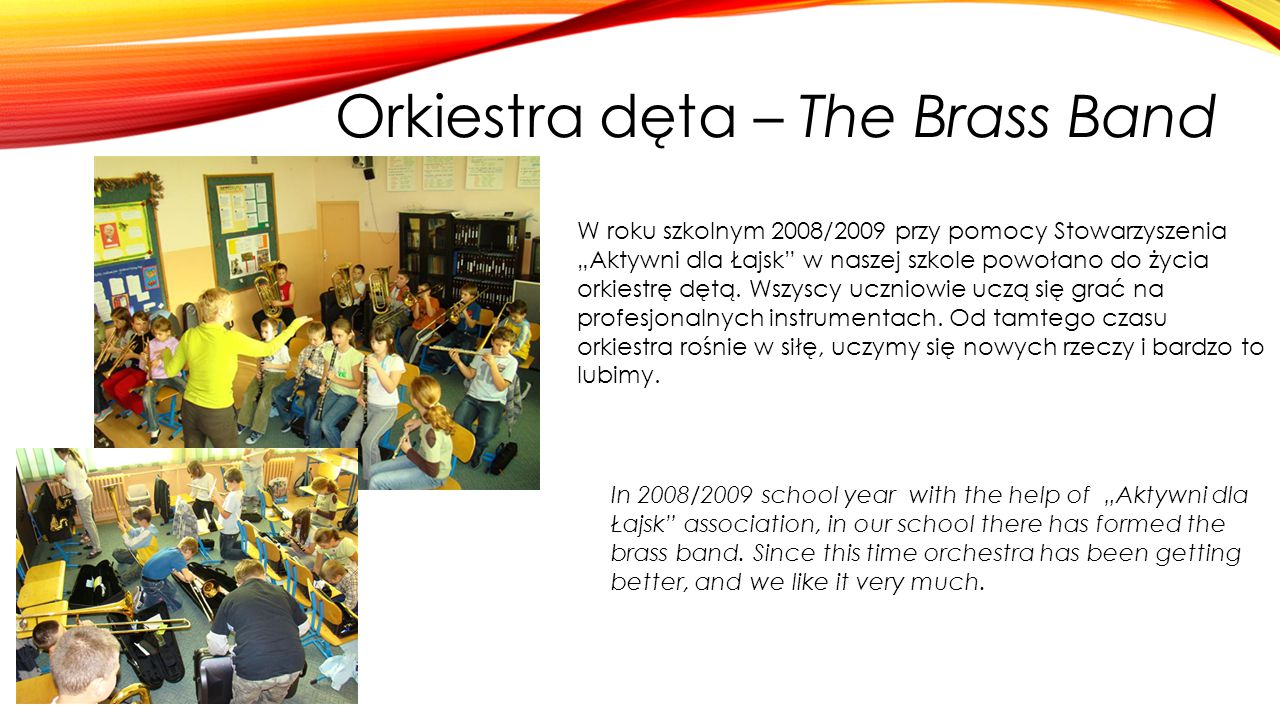 Orkiestra dęta – The Brass Band