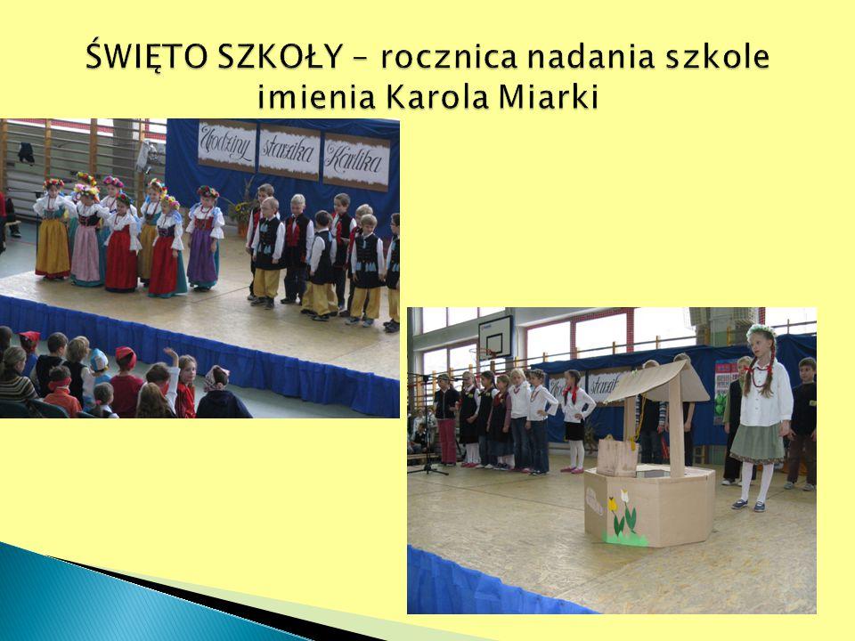 ŚWIĘTO SZKOŁY – rocznica nadania szkole imienia Karola Miarki