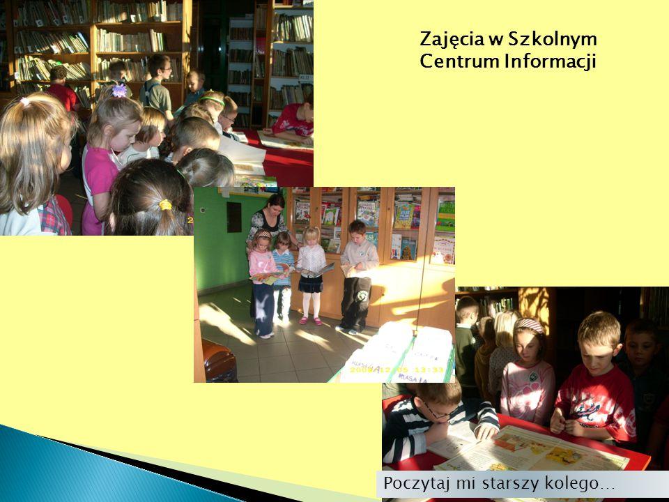 Zajęcia w Szkolnym Centrum Informacji