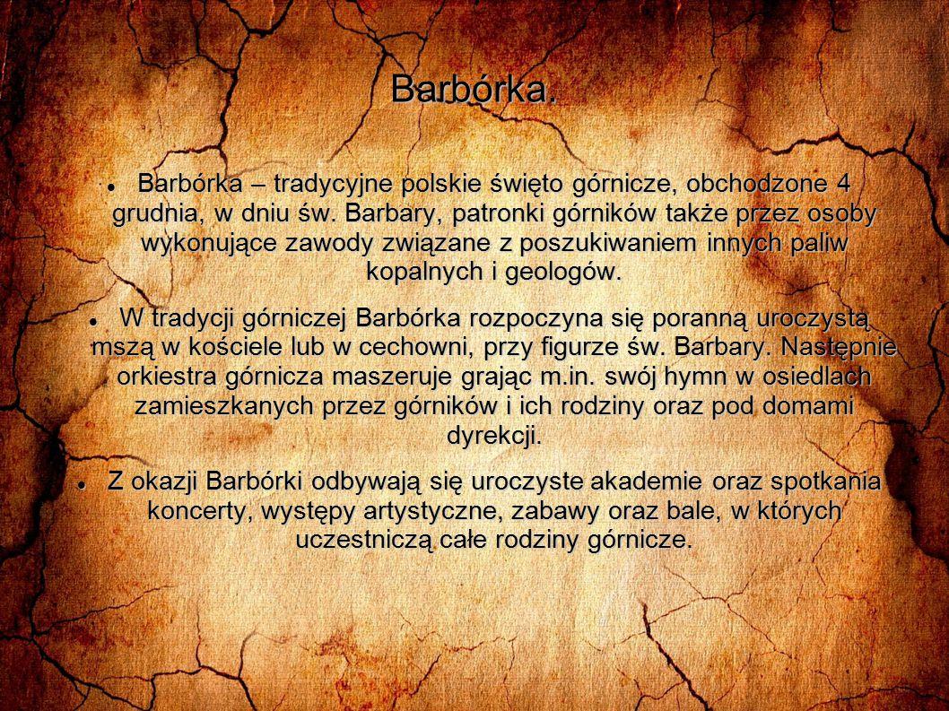 Barbórka.