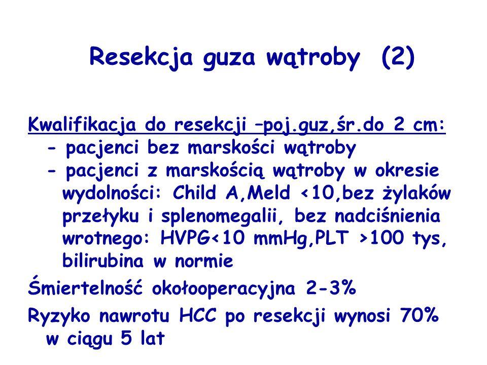 Resekcja guza wątroby (2)