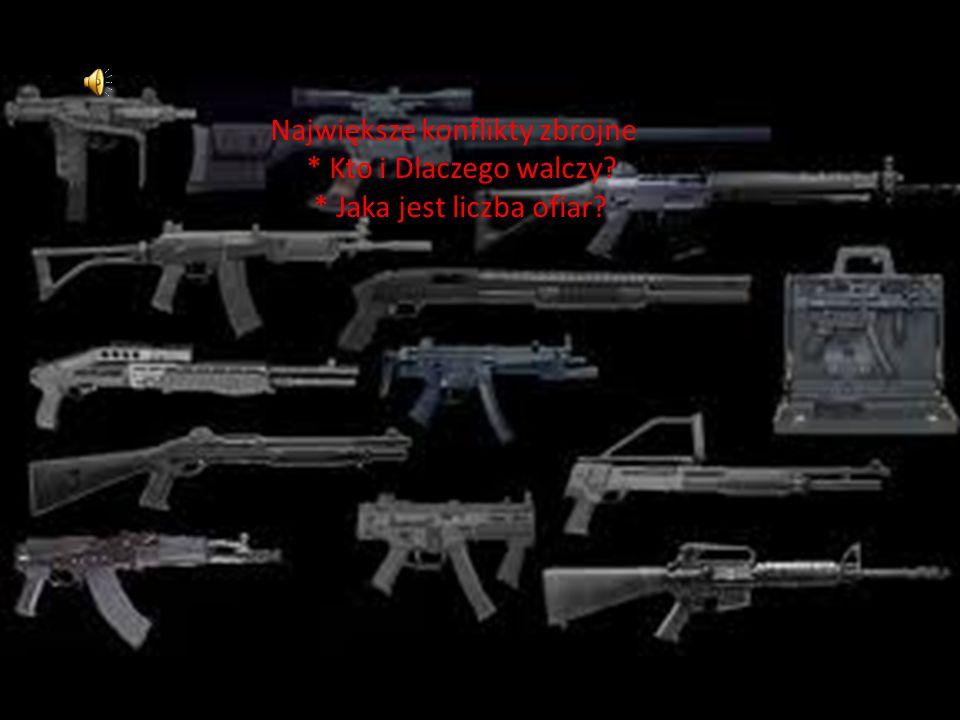 Największe konflikty zbrojne. Kto i Dlaczego walczy