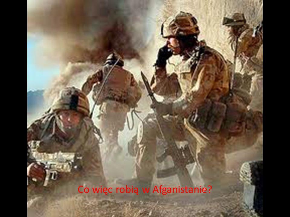 Co więc robią w Afganistanie
