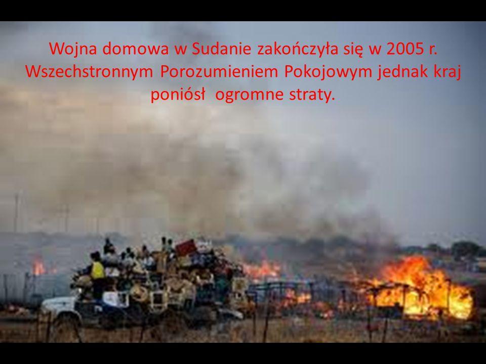 Wojna domowa w Sudanie zakończyła się w 2005 r