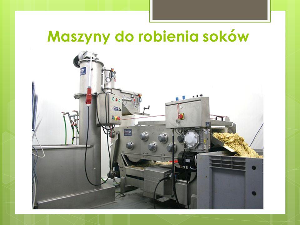Maszyny do robienia soków