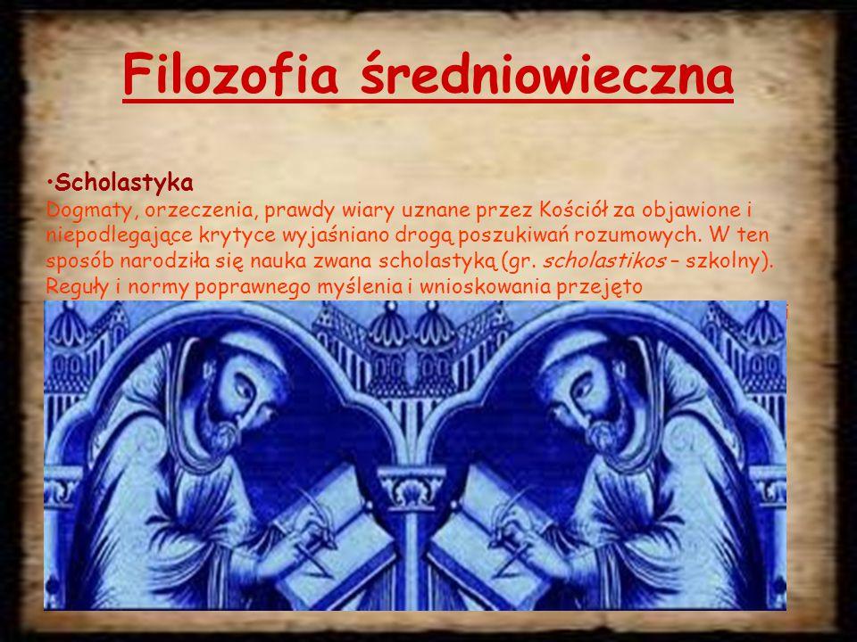 Filozofia średniowieczna