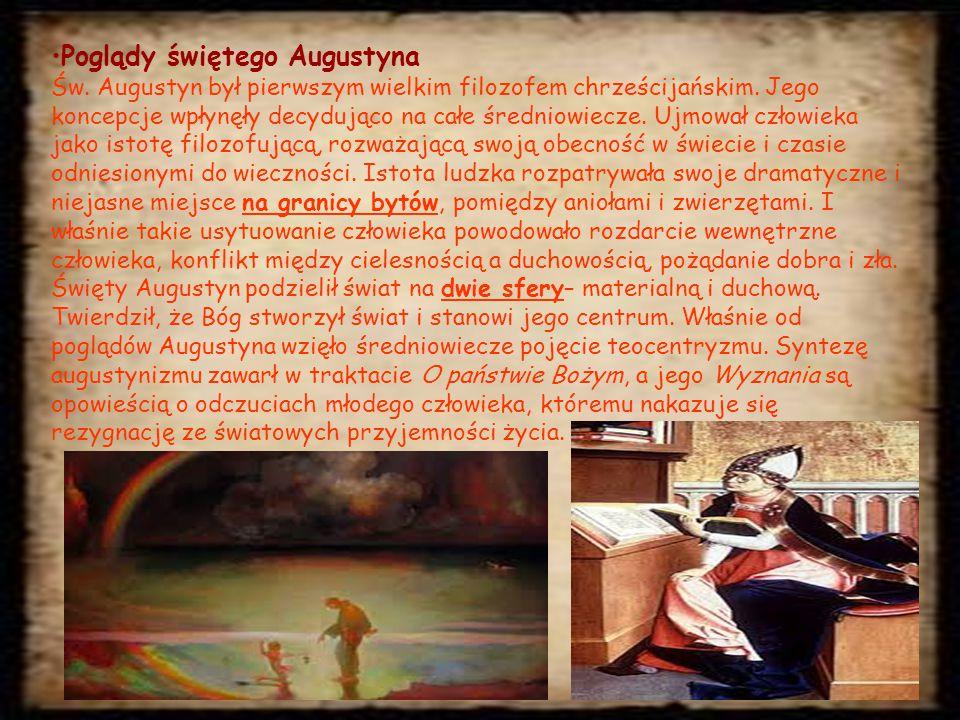 Poglądy świętego Augustyna