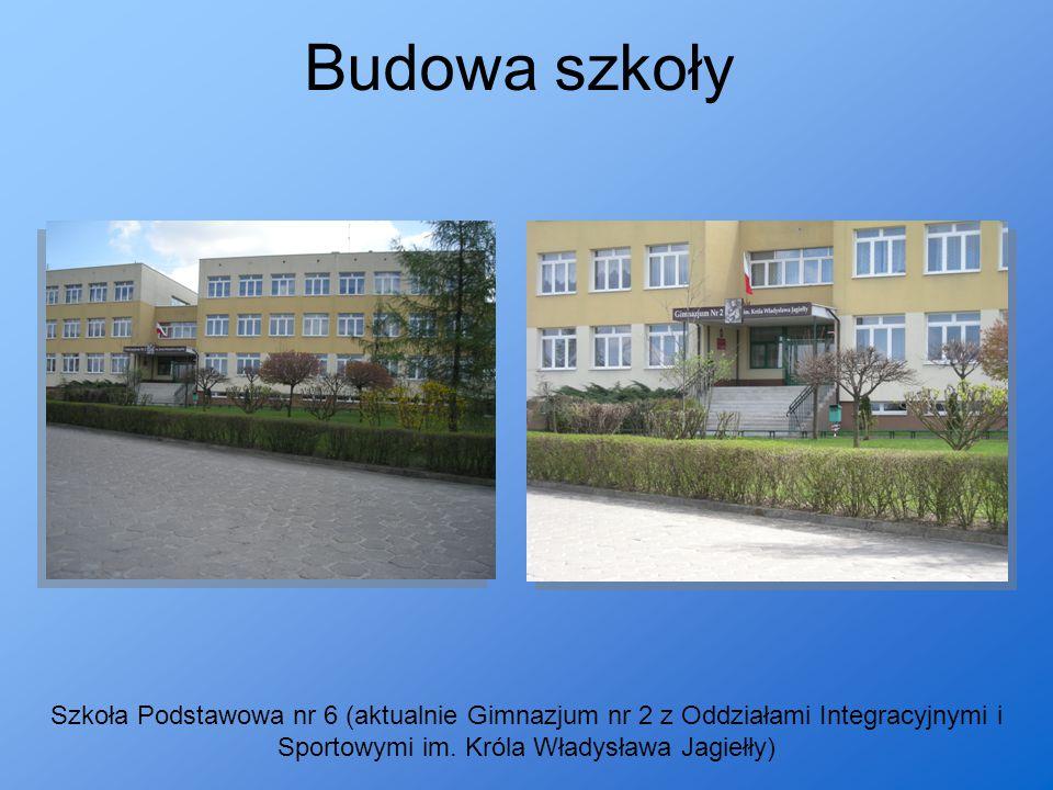 Budowa szkoły Szkoła Podstawowa nr 6 (aktualnie Gimnazjum nr 2 z Oddziałami Integracyjnymi i Sportowymi im.