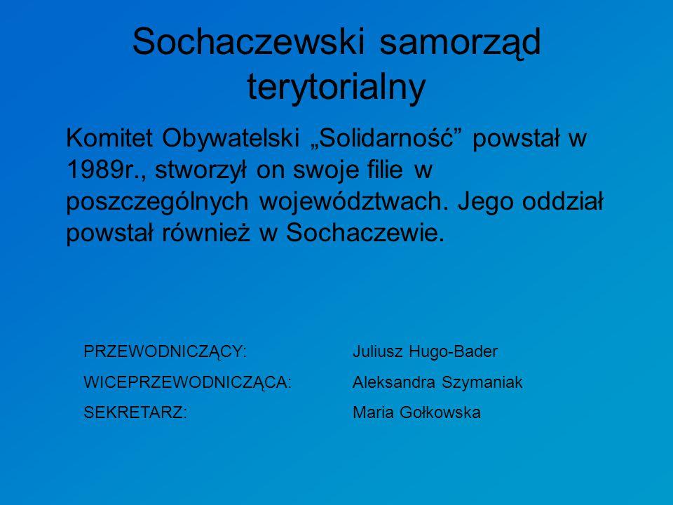 Sochaczewski samorząd terytorialny