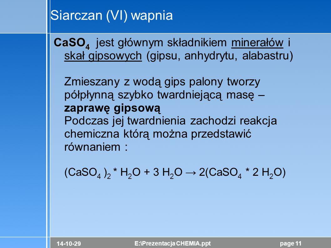 Siarczan (VI) wapnia