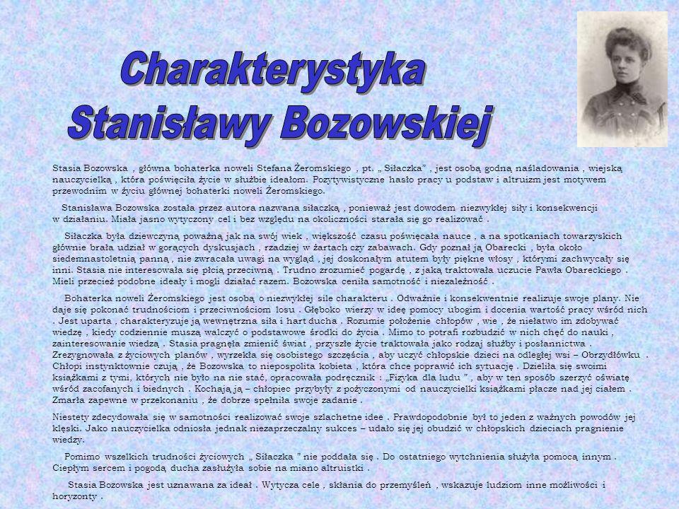 Stanisławy Bozowskiej